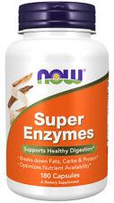 Now Foods, Super Enzymes mit Verdauungsenzymen, 180 Kapseln - Blitzversand