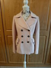 Superb Blush Pink Jacket With Feature Stitching By M&S Size 14 BNWT