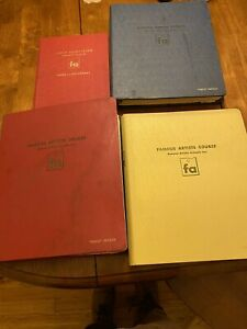 "FAMOUS ARTISTS COURSE Complete Set 1960 ""Chris"" Hartley - Painting"