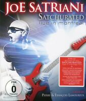 "JOE SATRIANI ""SATCHURATED: LIVE IN MONTREAL""  BLU-RAY NEUF"