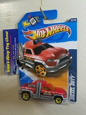 Hot Wheels 2012 Malmart Excl. HW CITY WORKS Diesel Duty Red 133/247 B11