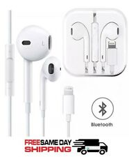 Bluetooth Wired Earbuds Headphones Headsets In-ear for iPhone Apple X 6 7 8 plus