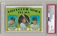 1972 Topps #79 CARLTON FISK, PSA  8 NM-MT,  ROOKIE ,RC, BOSTON RED SOX,   HOF
