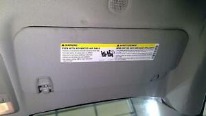Passenger RH RIght Interior Sun Visor Sunvisor Gray-01a Cloth 13-19 Buick Encore