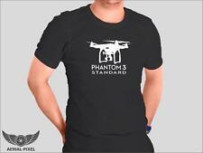 DJI Phantom 3 Standard T-Shirt Black and White S, M, L, XL 2XL Not Inspire