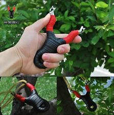 Free titanium steel Outdoor Fishing Hunting Slingshot Catapult Launcher rubber