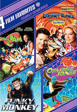 4 Film Favorites: Family Comedies (DVD, 2007, 2-Disc Set) Space Jam Looney Tunes