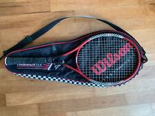 4 Tennisschläger mit Hülle gebraucht Wilson - Babolat - Crane - Pro Kennex