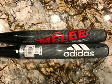 Adidas Melee Balanced Senior Softball Bat -- STOCK, ROLLED or SHAVED -- you pick