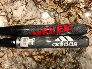 Adidas Melee Balanced Senior Softball Bat -- STOCK, ROLLED or SHAVED -- you pick