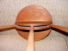 Antique Clothes/ towel Dryer  Wood Display Rack  duck picture