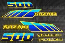 SUZUKI LT500 QUADRACER QUADZILLA  Replica Full Set Graphics Sticker 87-90 Model