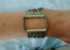 "Topshop ""Freedom"" Ladies Antique Style Silver/Gold/Bronze Bracelet BNWOT"