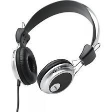 AEG Kopfhörer mit Edelstahlbügel KH 4220 schwarz EDELSTAHLBÜGEL 2,2m KABEL 105dB