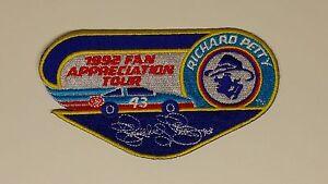 VTG NASCAR Racing Patch Richard Petty 43 Fan App Tour 4 Hat Shirt & STP Postcard