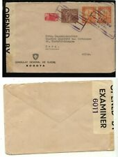 Colombia  large cover  Swiss Consul  to Switzerland     MS0704