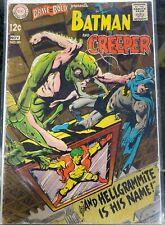 1968 Brave & the Bold #80 Batman & the Creeper DC Comics VG Bagged & Boarded