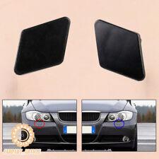 1Pair Bumper Headlight Washer Nozzle Cover Cap fit BMW 3 Series E90 E91 05-09