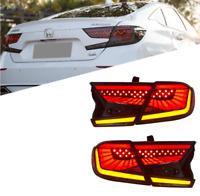LED Tail Lights For Honda Accord  2018 2019 2020 4PCS Smoked Rear Lamp Assembly
