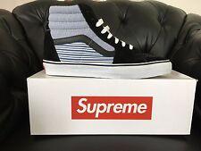 NEW Supreme x Comme Des Garcons Shirt CDG Vans Sk8 Hi Pro US.9.5 Sneakers SS12