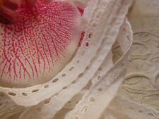 dentelle vintage bordure bas style feston 5 mètres sur 1,4 cm