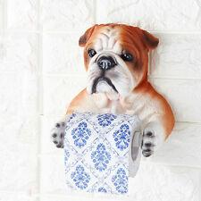 1xHome Furnishing Grogshop Toilet Water-Repellent Dog Toilet Paper Holder Random
