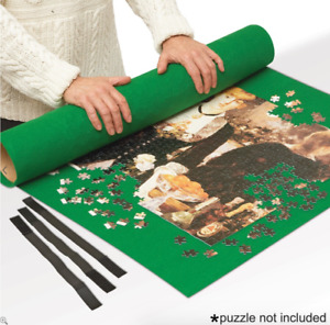 Jigsaw Puzzle Roll Up Storage Mat Telescopic Tube 120 x 80cm Fits 2000 Pieces