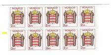 Monaco neuf** carnet timbres 1623