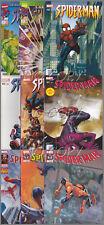 COMICS SPIDER-MAN magazine lot  9 N° 23/24/49/62/74/121/134 2001/2011 N°3/4 2012