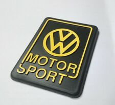 VW Golf 2 VW Motorsport Heckemblem gelb G60 GTI Tuning Limited Edition Emblem On