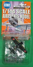 LAST SECRET Bandai Wing Club L3 Mitsubishi A6M2 Zero NMIB 1:144 WW2 Aircraft