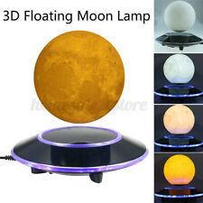 3D Moon Night Light Magnetic Levitating Floating Lamp Gifts Home Desk Xmas  US