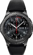 Samsung Gear S3 Frontier Smart Watch w/ Touchscreen, Dust/Water Resistant, Black