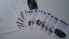 IRobot Roomba assorted lot of User Manuals and Quick Start Guides 500 series