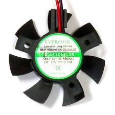 Evercool EC4510M12S-B 45mm x 10mm 12v VGA Video Card Cooling Fan Bury Frame
