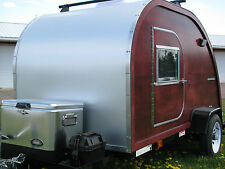 Big Woody Teardrop Camper Trailer Plans PDF Download