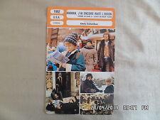 CARTE FICHE CINEMA 1992 MAMAN J'AI ENCORE RATE L'AVION Macaulay Culkin Joe Pesci