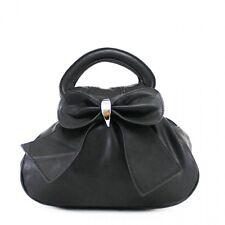 Fashion Ladies Faux Leather Bow Grab Bag Women Shoulder Tote Satchel Girls Bags