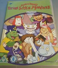 SEVEN LITTLE MONSTERS HELLO DVD 3 EPISODES KIDS