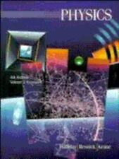 Volume 2 Extended, Physics, 4th Edition, Extended Version, David Halliday, Rober