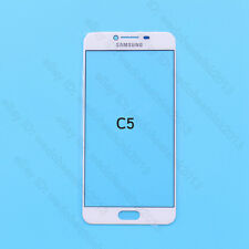 Front Touch Screen Outer Glass Lens Panel For Samsung Galaxy C5 C5000 5.2""