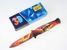 Albainox Scorpion Fire assisted opening einhandmesser con 3d printmotiv nuevo