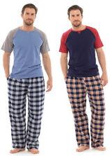 Cotton Regular Size Short Sleeve Nightwear for Men