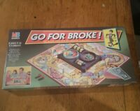 Go For Broke Board Game MB Games 1993 - complete