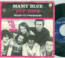 "POP-TOPS - MAMY BLUE ( DUTCH PINK ELEPHANT PE 22582 H) 7""PS  1970"