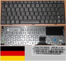 Tastiera Qwertz Tedesca ASUS EEE EEEPC PC 1000 V021562IK3 0KNA-0D3GE02 Nero