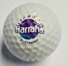 (1) Harrah'S Joliet Casino Logo Golf Ball
