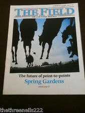 THE FIELD - POINT-TO-POINTS - MARCH 27 1986