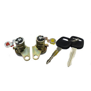 Door Lock Cylinder Tumbler W/ Keys For 93-97 Toyota Corolla Geo Prizm 6905112340