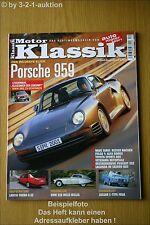 Motor Klassik 12/02 Porsche 959 Lancia Thema 8.32 BMW